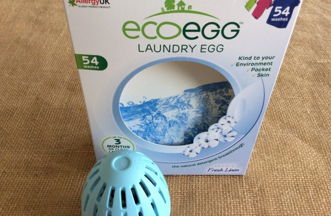Eco egg laundry egg