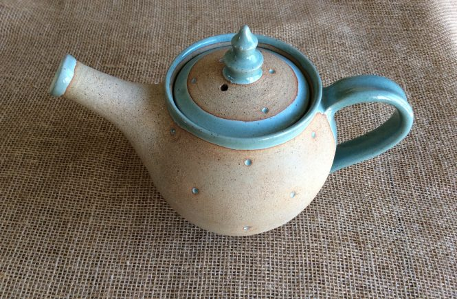 Teapot from Oby Pottery